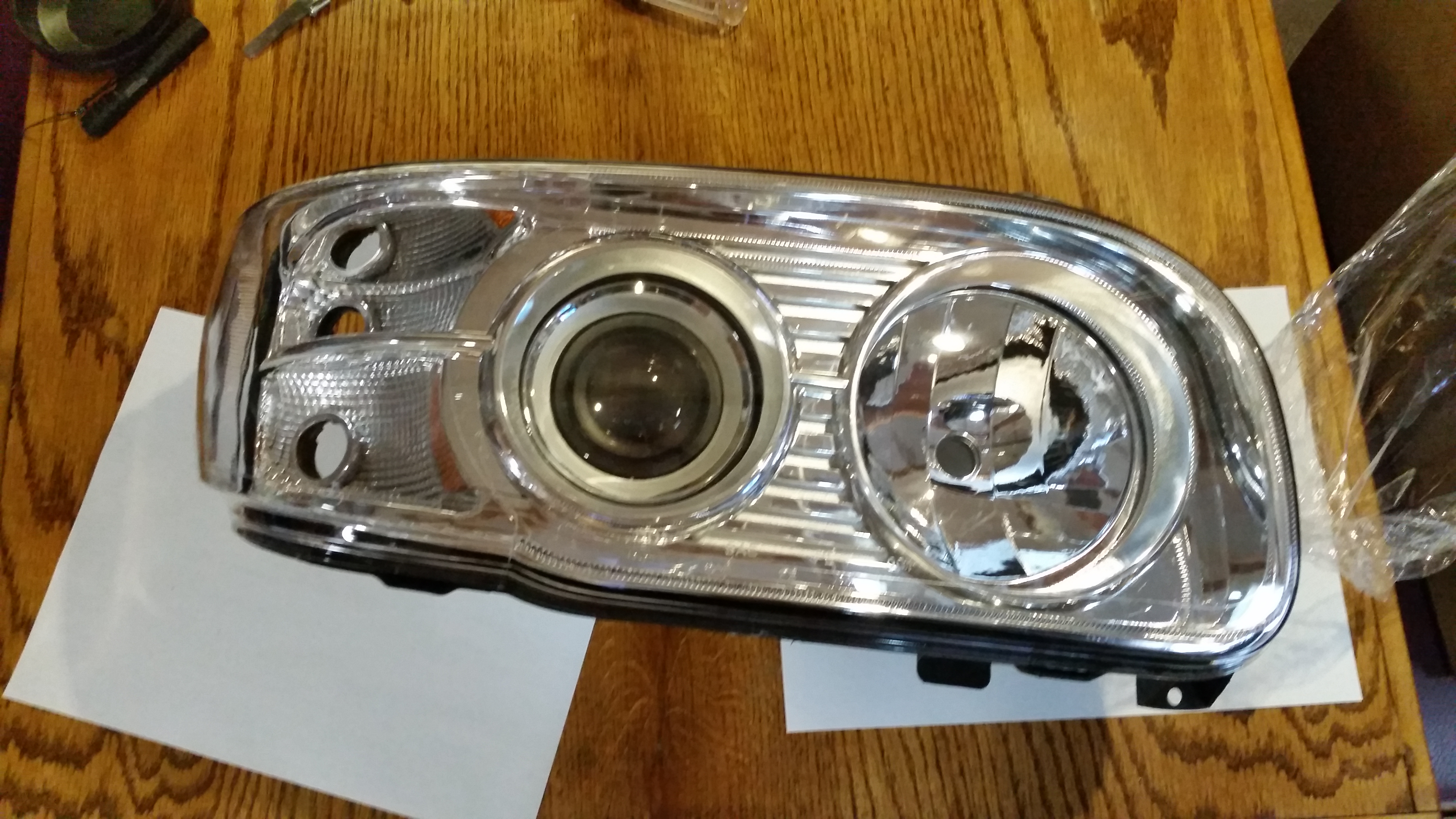 Peterbilt 388 389 567 Bi Xenon Projector Headlight Upgrade Kenworth T660 Wiring Diagram